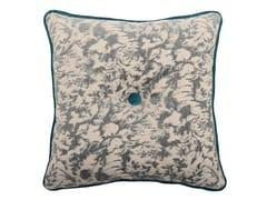 Cuscino quadrato in tessuto CARRÈ 329-15 -