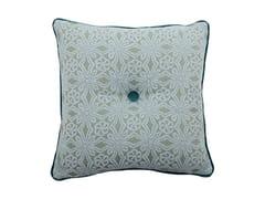 Cuscino quadrato in tessuto CARRÉ 239-15 -