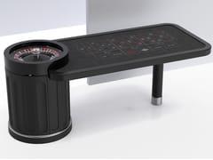 Tavolo da roulette rettangolare in legnoCARRÈ - TABLESWIN