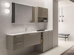 Mobile bagno con base portalavatriceCARTABIANCA | Mobile lavanderia - CERASA