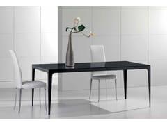 Tavolo rettangolare in marmo Nero Marquina CARTESIO | Tavolo - Contemporary