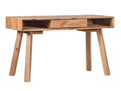 Scrivania in legno massello con cassettiCARTHORSE - ARREDIORG
