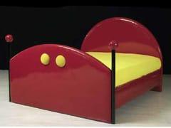 Letto imbottito in PVC CARTOON | Letto - Mirabili Arte d'Abitare