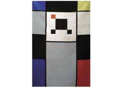 Tappeto fatto a mano rettangolare in lana CARTOON | Tappeto - Mirabili Arte d'Abitare
