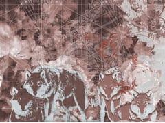 Carta da parati geometrica optical in stile modernoCARUSO - TECNOGRAFICA