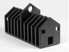 Porta toast / Portalettere in ceramica smaltataCASAAFETTE - MIKRODESIGN
