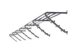 Appendiabiti / mensola in metallo CASSETTA - Cassetta