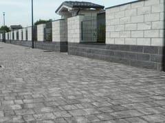 Massello autobloccante in calcestruzzo CASSIA - HISTORY - Masselli autobloccanti per esterni