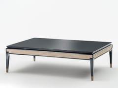 Tavolino basso da caffè in legno CASTELLO | Tavolino basso - Milano Collection