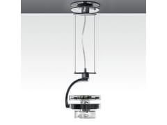 Lampada a sospensione a LED orientabile in alluminio pressofuso CATA TIR | Lampada a sospensione - Cata