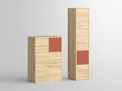 Credenza in legno massello con ante a battente CAVUS   Credenza -