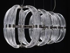 Lampada a sospensione a LED in vetro soffiatoCDF05 | Lampada a sospensione - PATRIZIA GARGANTI