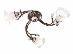 Lampada da soffitto in ceramica con braccio fissoVICENZA | Lampada da soffitto - FERROLUCE