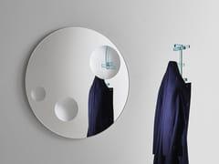 Specchio rotondo in cristallo da pareteCELESTE | Specchio rotondo - GLAS ITALIA