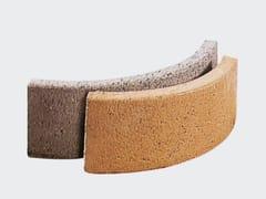 Cordolo stradale in cementoCordolo curvo - CANTIERE TRI PLOK