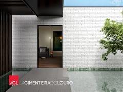 Rivestimento tridimensionale per facciateCEMENTBRICK - A CIMENTEIRA DO LOURO