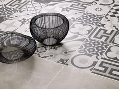 Pavimento/rivestimento in gres porcellanatoCEMENTINE BLACK & WHITE - CERAMICA FIORANESE