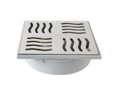 Chiusino sifonato in ABS grigio con scarico verticaleCHABSV1550IN - FIRST CORPORATION