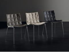Sedia in alluminio e pelleAIRY 2016 | Sedia - ACERBIS BY MDF ITALIA