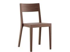 Sedia impilabile in legno masselloMIRO | Sedia - MÖBELFABRIK HORGENGLARUS