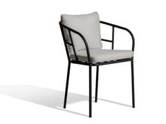 Sedia imbottita in Sunbrella® con braccioliSALTÖ | Sedia - SKARGAARDEN