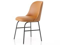 Sedia ALETA | Sedia in pelle - Aleta