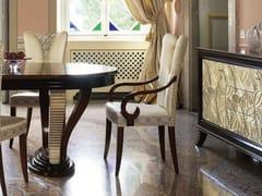 Sedia imbottita in tessuto con braccioliGRAND ÉTOILE | Sedia con braccioli - CANTIERO