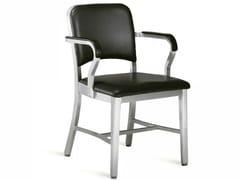 Sedia imbottita con braccioli NAVY® UPHOLSTERED | Sedia con braccioli - Navy® Upholstered