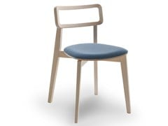 Sedia impilabile con cuscino integrato ARIANNA | Sedia con cuscino integrato - Arianna