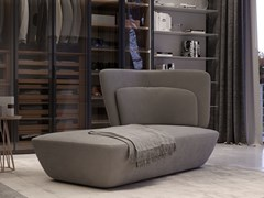 Chaise longue imbottita in vellutoSOHO   Chaise longue - EMMEBI