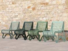 Seduta da esterni in acciaio inoxCHALIDOR 400 | Seduta da esterni - BENKERT BÄNKE