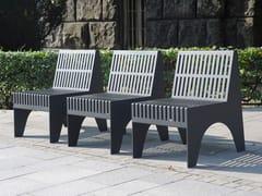 Seduta da esterni in acciaio inoxCHALIDOR 500 | Seduta da esterni - BENKERT BÄNKE
