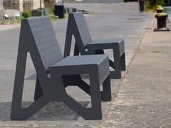 Seduta da esterni in acciaio inoxCHALIDOR 100 | Seduta da esterni - BENKERT BÄNKE