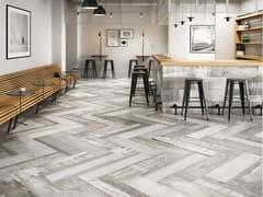 Aparici, CHALKWOOD Pavimento/rivestimento in porcellana effetto legno