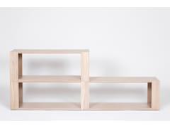 Libreria / tavolino in legno impiallacciatoCHAMFER | Tavolino rettangolare - ASPLUND