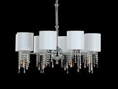 Lampadario a luce indiretta con cristalliGLAMOUR | Lampadario - AIARDINI ILLUMINAZIONE
