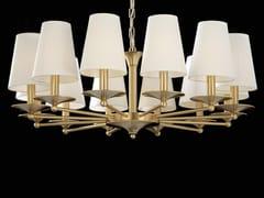 Lampadario a LED in ottoneAMANDA | Lampadario - AIARDINI ILLUMINAZIONE