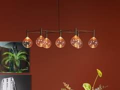 Lampadario in vetro borosilicatoSOFÌ | Lampadario - BONALDO