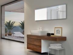 Mobile lavabo sospeso con cassetti CHANGE 206 - Change