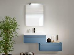 Mobile lavabo sospeso con cassetti CHANGE 223 - Change