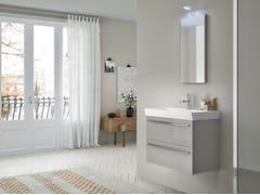 Mobile lavabo sospeso con cassetti CHANGE 350 - Change