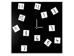 Orologio in lamiera da pareteCHANGING - DESIGNOBJECT.IT