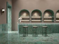 Pavimento/rivestimento in gres porcellanato effetto marmoCHARM EXPERIENCE AMAZZONITE - ITALGRANITI