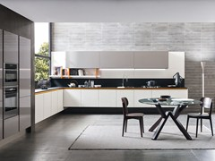 Cucina lineare in nobilitato CHARME 37 | Cucina lineare -