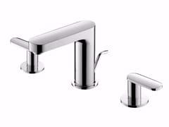 Rubinetto per lavabo a 3 fori da piano in ottone cromato CHARMING PLUS   Rubinetto per lavabo - Charming Plus