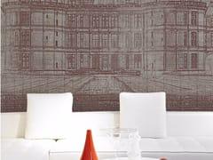Inkiostro Bianco, CHATEAUX Carta da parati panoramica con paesaggi