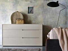 Cassettiera in legno con maniglie integrateARIEL | Cassettiera - TOMASELLA IND. MOBILI