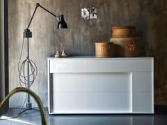 Cassettiera in legno con maniglie integrateKAIRO | Cassettiera - TOMASELLA IND. MOBILI