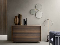 Cassettiera in legno con maniglie integratePUSH | Cassettiera - TOMASELLA IND. MOBILI
