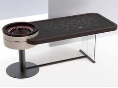 Tavolo da roulette rettangolare in metalloCHEVAL - TABLESWIN
